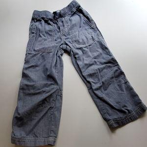 Mini Boden Train Engineer Stripe Jeans